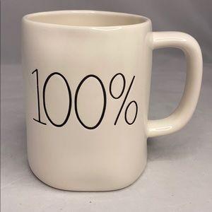 Rae Dunn 100% Mug white LL